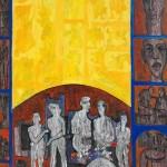1078  AHMAD AL SOUFI Artist SYRIA 180x200cm