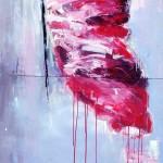 JERZY MAROSZ Artist POLAND 140cmx60cm